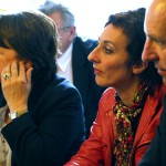 Martine Aubry, Chaynesse Khirouni et Dominique Potier